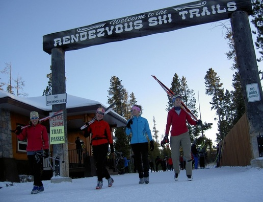 Rendezvous ski trails, Yellowstone Ski Festival